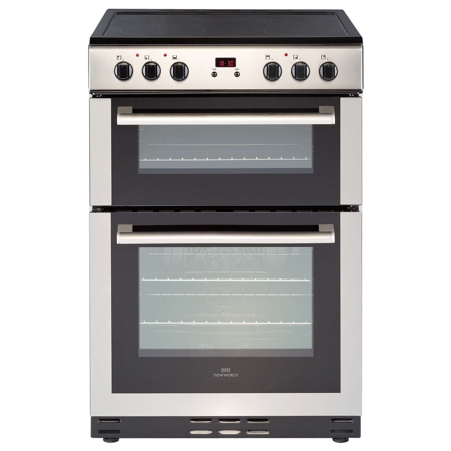 new world nw60edomc 60cm double oven electric ceramic cooker in rh ebay co uk new world vision gas cooker manual new world 55thlg gas cooker manual