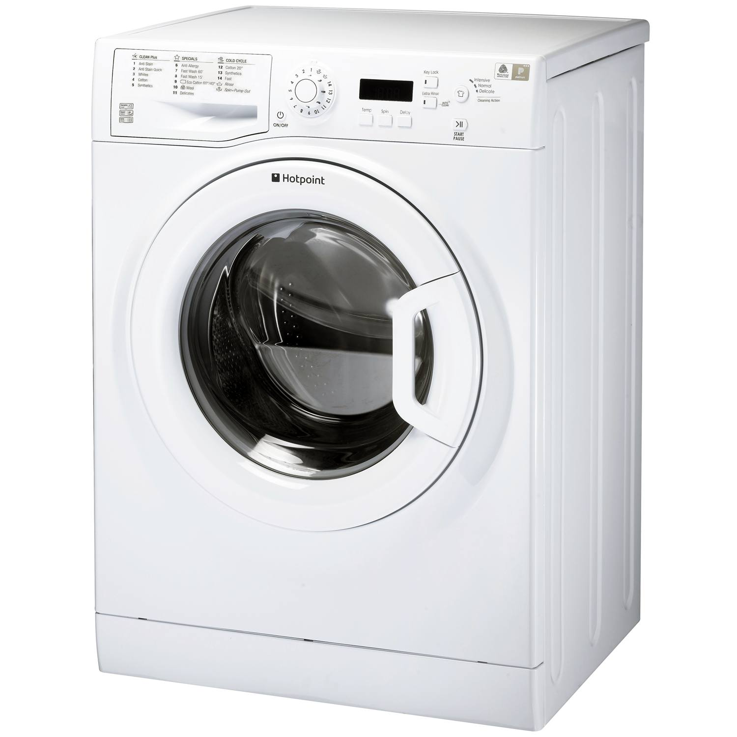 Washing Machines: Hotpoint Futura WMBF763P Freestanding A+++ 7kg 1600 Spin