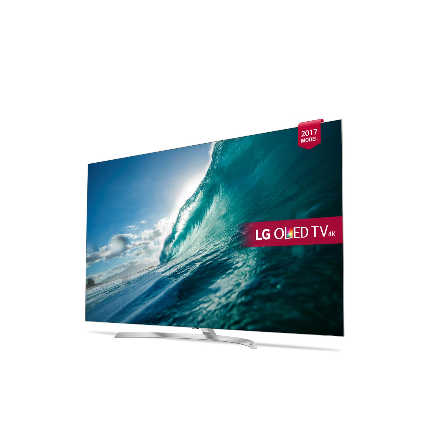 lg oled55b7v 55inch 4k ultra hd hdr smart oled tv in silver with 4x hdmi ports ebay. Black Bedroom Furniture Sets. Home Design Ideas