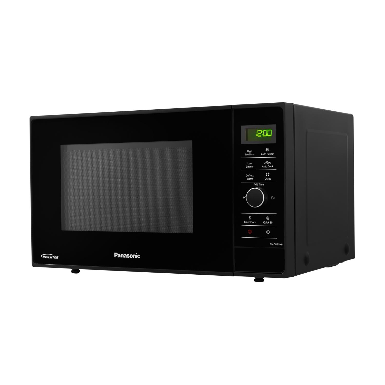 Panasonic Nn Sd25hbbpq 23 Litre 1000w Solo Inverter Microwave Oven In Black New 134 00